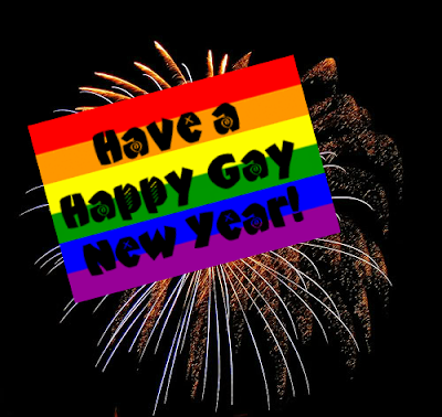 Gay Happy New Year PNG