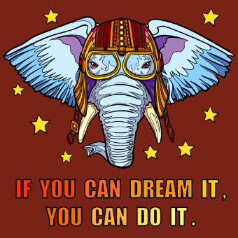 If You Can Dream Poster PNG